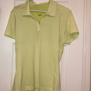 Chartreuse Nike Golf Shirt